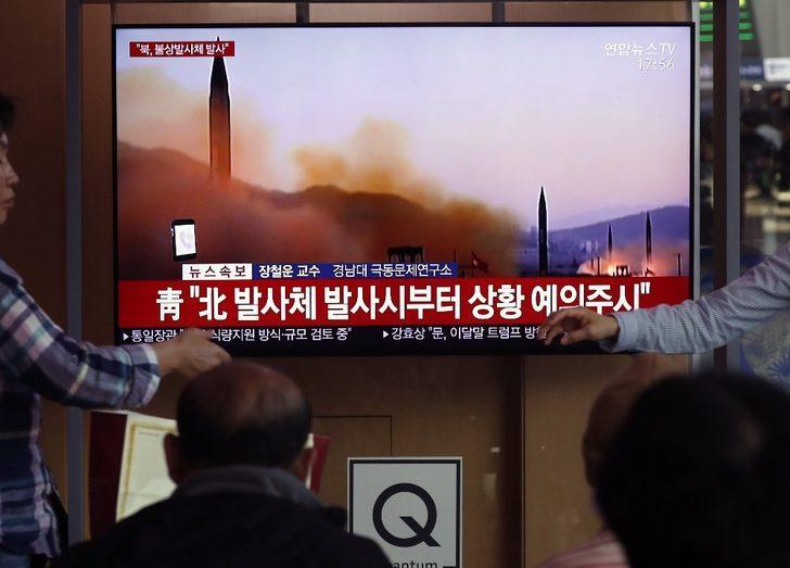 Kuzey Kore iki kısa menzilli füze atışı yaptı