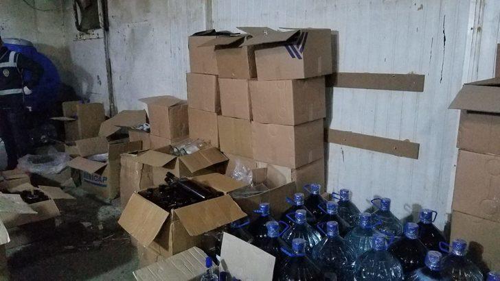 Gaziantep'te sahte içkiye 3 gözaltı