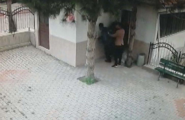 Muslukları sökerken yakalandı, motosiklete binip kaçtı