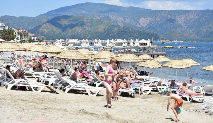 Ramazan'ın başlamasıyla sahiller turistlere kaldı