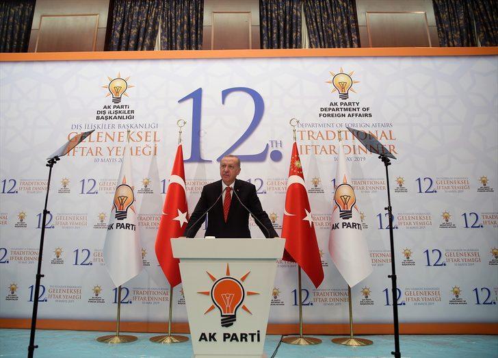 Erdoğan'dan yaptırım sözlerine yanıt: Kabullenmemiz mümkün değil