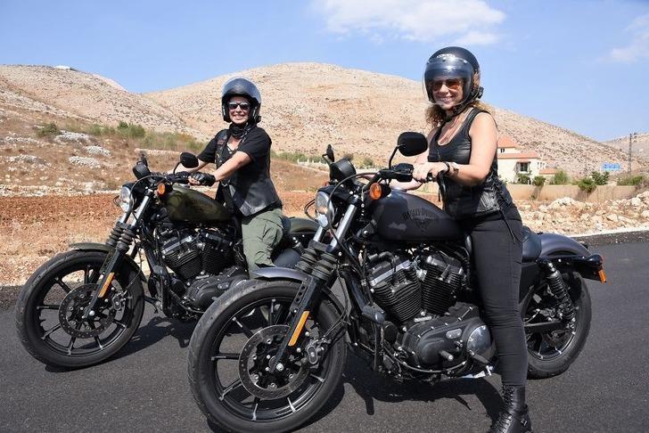 Ortadoğu'nun cesur kadın motosikletçileri