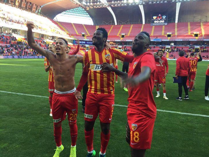 Kayserispor 2 - 1 Kasımpaşa