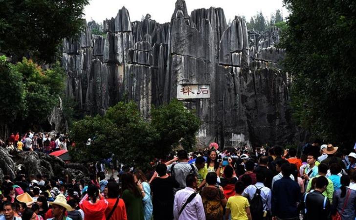 Akın akın görmeye gidiyorlar!  Çin'in doğal labirenti: Taş Ormanı