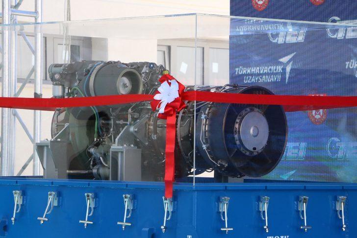 Türkiye'nin ilk yerli helikopteri 'Kara Şahin'in ilk 4 motoru tamam