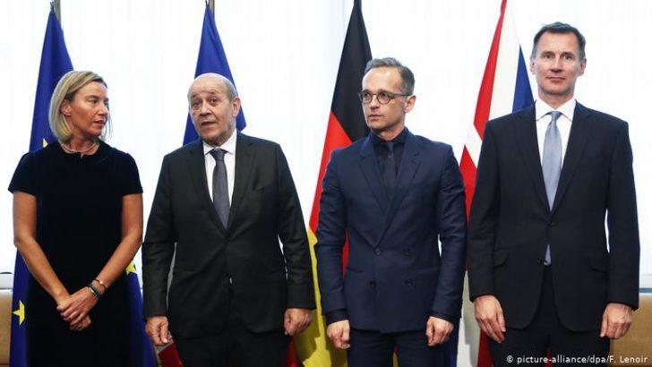 Avrupa'dan ABD'ye İran ile gerilimi tırmandırmama uyarısı