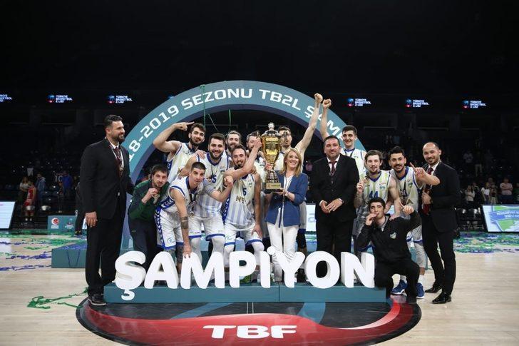 Türkiye Basketbol 2. Ligi şampiyonu Denizli Basket oldu