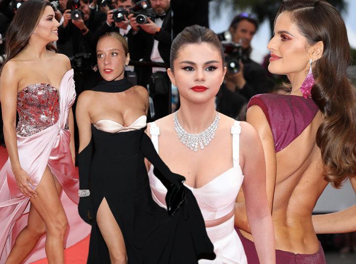 72. Cannes Film Festivali'nde ünlülerin kırmızı halı şovu