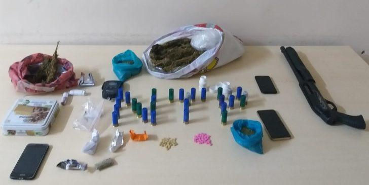 Gaziantep'te uyuşturucu operasyonuna 1 tutuklama