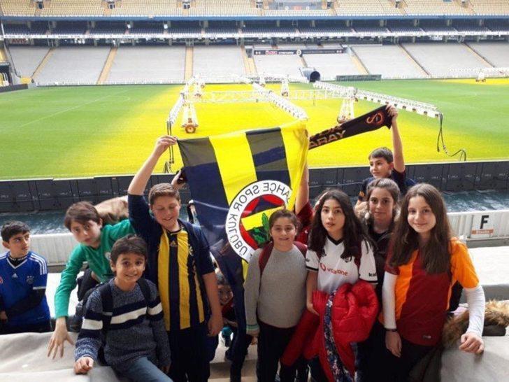 Fenerbahçe'den Galatasaraylı çocuk için açıklama geldi