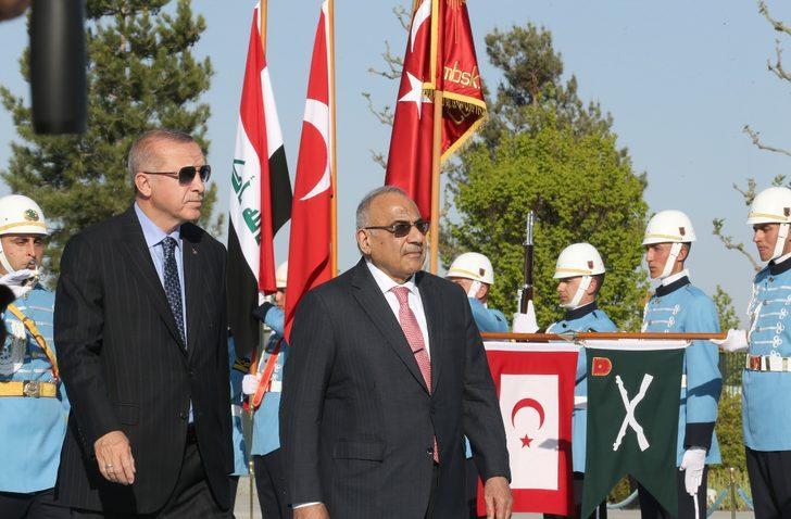 Erdoğan: Türkiye-Irak arasında askeri iş birliği ve güven anlaşmasının yapılmasına karar verdik