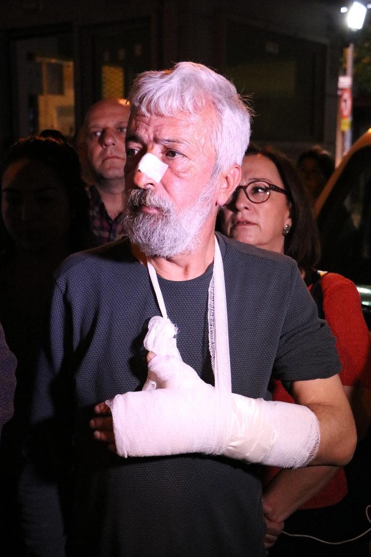 Antalya'da gazeteciye sopalı saldırı