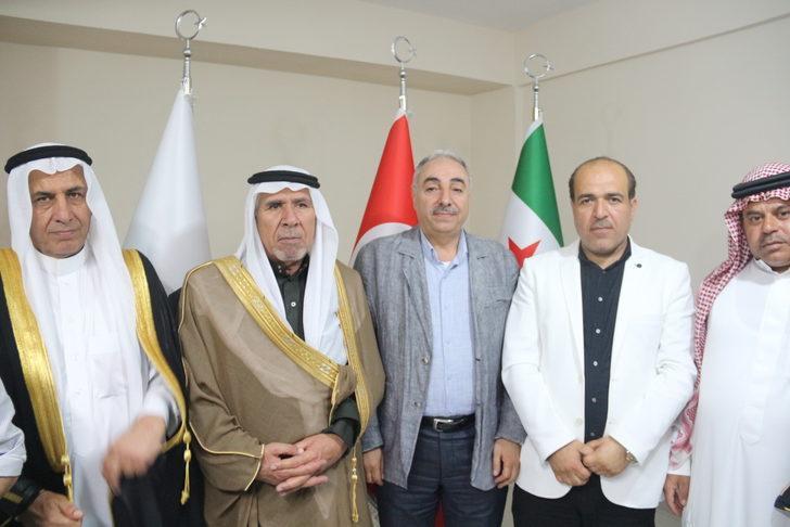 Suriyeli aşiret liderleri Şanlıurfa'da şube açtı: Teröristlere nefes aldırmayacağız