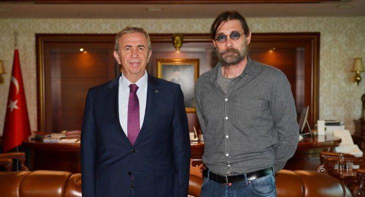 Erdal Beşikçioğlu, Mansur Yavaş'ı ziyaret etti