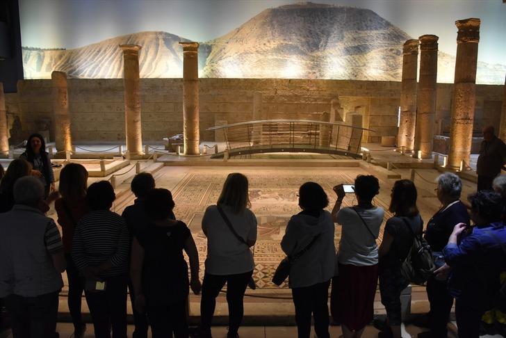 Zeugma Mozaik Müzesi'nde hedef 1 milyon ziyaretçi