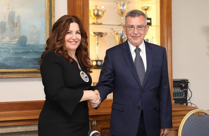 BIMCO'nun ilk kadın ve Türk başkanı Kaptanoğlu oldu
