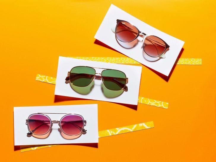 Güneş gözlüklerinde yüzde 60'a varan indirim fırsatını sakın kaçırmayın!