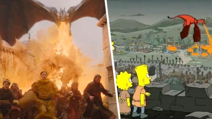 The Simpsons bu kez de Game of Thrones sürprizini tahmin etti!