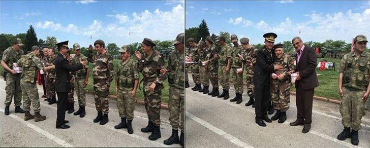 Engellilerin askerlik heyecanı