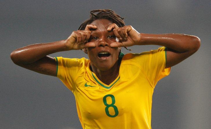 Formiga, FIFA Kadınlar Dünya Kupası'na 7 kez katılan ilk futbolcu oldu