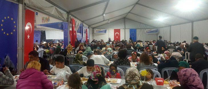 Bursa AB Bilgi Merkezi iftar yemeği düzenledi