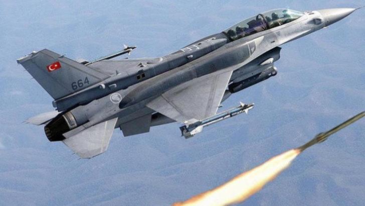 Irak'ın kuzeyine düzenlenen hava harekatında terör hedefleri imha edildi