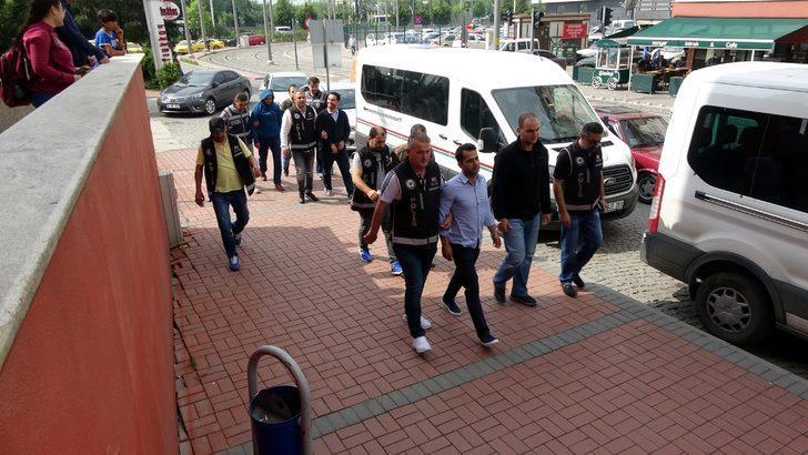 FETÖ'nün TÜBİTAK ve askeri yapılanmasına operasyonda 13 kişi adliyede