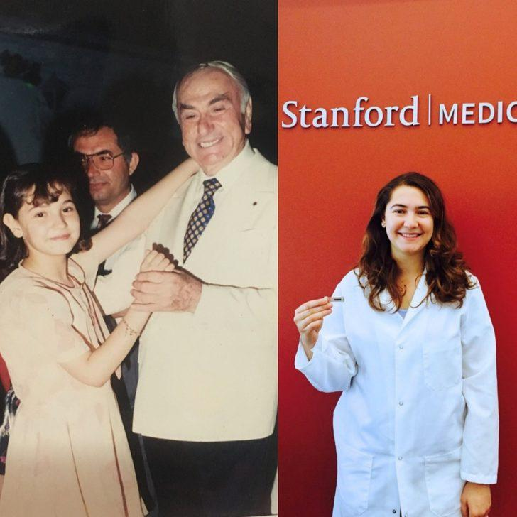 İki fotoğraf arasında bir bilim kadını hikayesi! Hastaneye gide gele bilim insanı oldu
