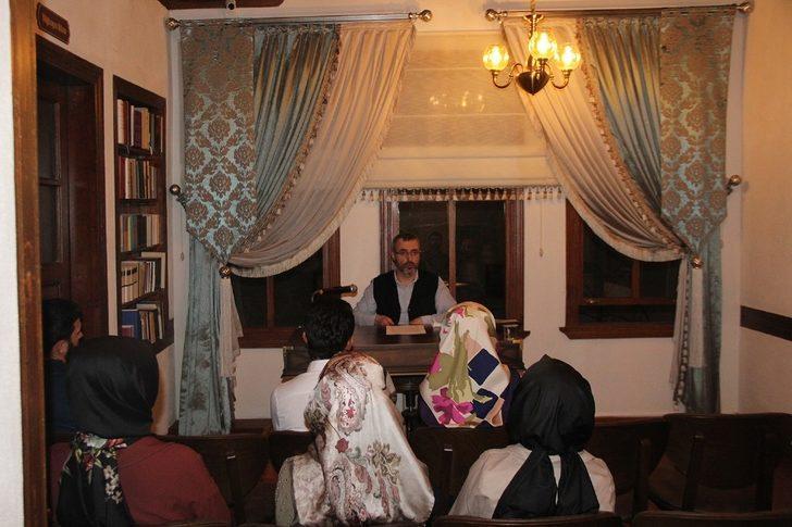 Alicanlar Konağı'nda 'Zekat ve İnfak Şuuru' isimli sohbet programı gerçekleşti