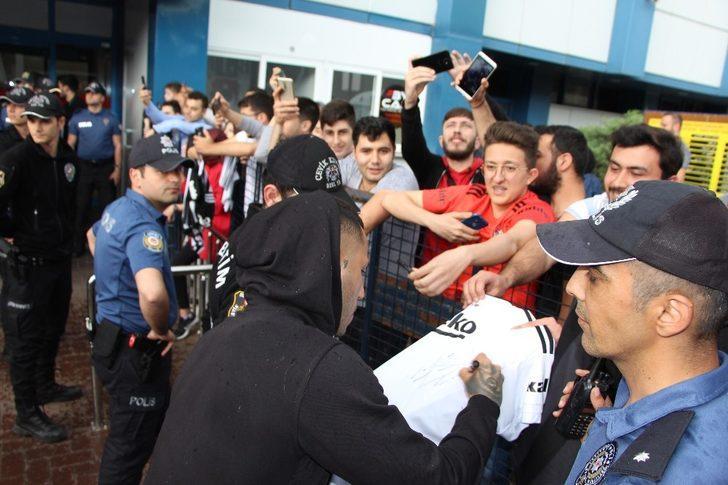 Beşiktaş, Trabzon'da