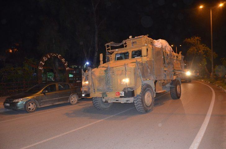 Suriye sınırına asker takviyesi yapıldı