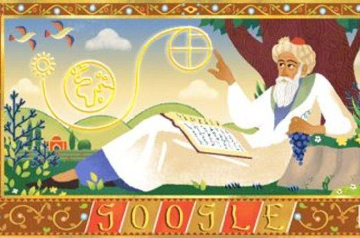 Google'dan Ömer Hayyam'ın 971. doğum gününe özel Doodle