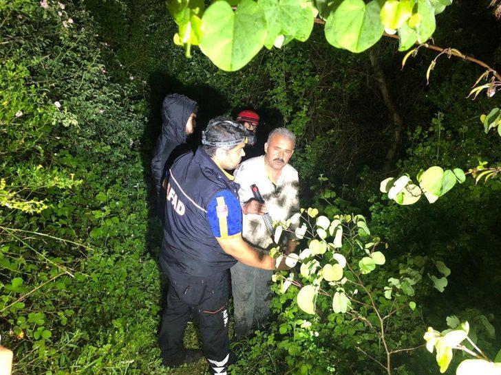 Yaşlı adam ağaç kesmek için gittiği ormanda kayboldu