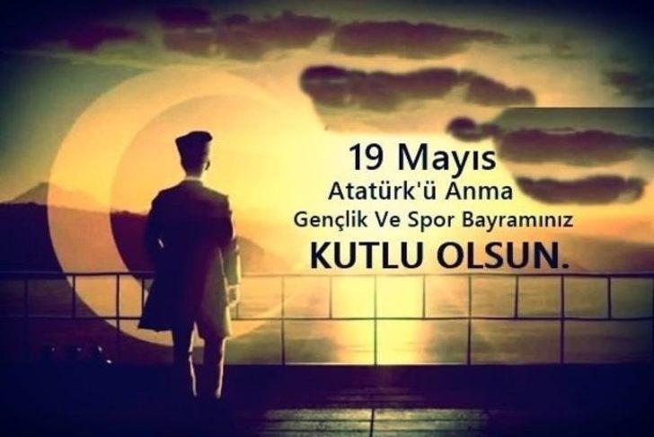 100. yıl 19 Mayıs mesajları: Atatürk'ü Anma ve Gençlik ve Spor Bayramı için en güzel resimli mesajlar