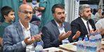 ASKON'un her gün bin kişiye iftar yemeği verdiği çadırı Vali Demirtaş ziyaret etti