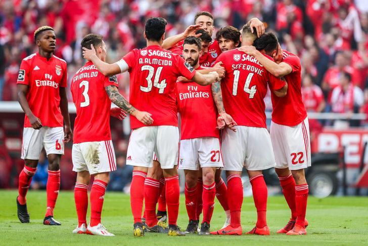 Portekiz Premier Lig'in Benfica şampiyonluğunu ilan etti