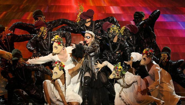 Eurovision Şarkı Yarışması'nda Madonna ve İzlanda'dan