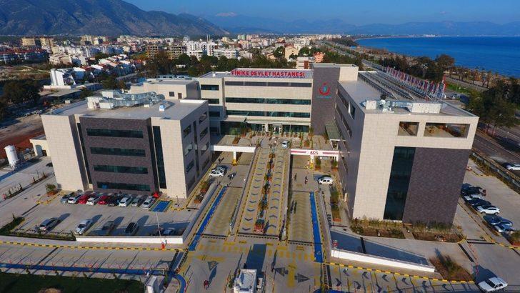Finike Devlet hastanesi gücüne güç kattı
