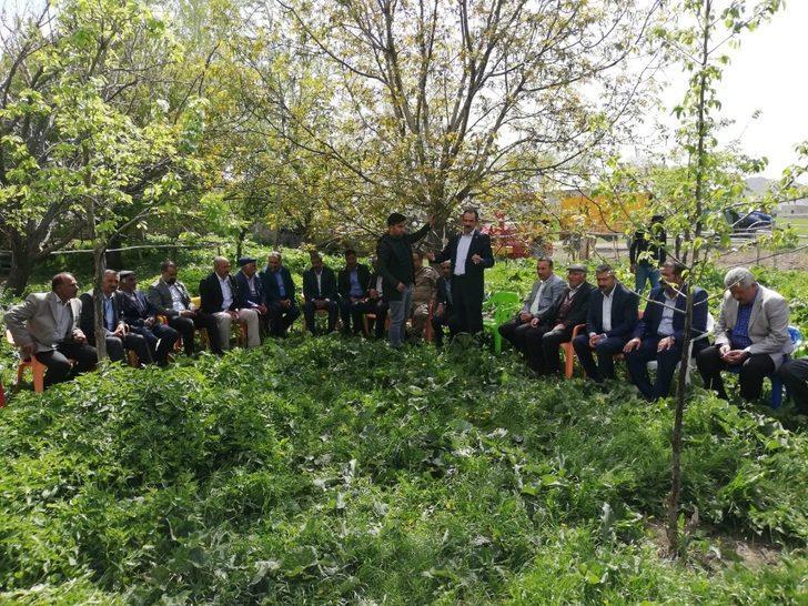 Gürpınar'daki husumetli iki mahalle barıştı
