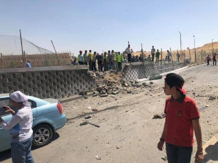 Mısır'da son dakika gelişmesi! Piramitlerin yakınında patlama