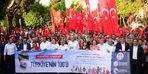 Adana'da 19 Mayıs coşkusu fener alayı ile sürdü