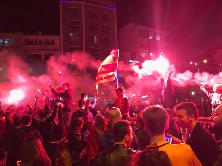 Sinop'ta Galatasaray coşkusu