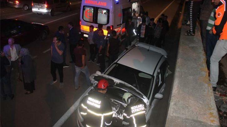 3 araç birbirine girdi: Yaralılar var!