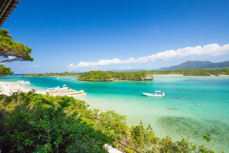 İshigaki Adası bembeyaz kumsallarıyla hayran bırakıyor