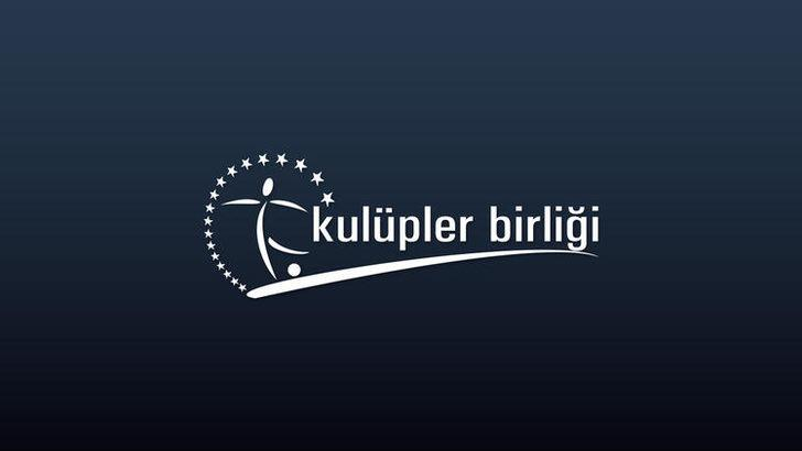 Kulüpler Birliği'nden Galatasaray'a kutlama