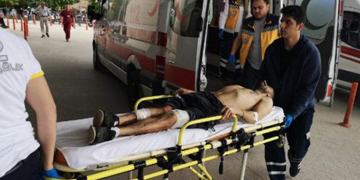 Bursa'da sokak ortasında silahlı saldırı
