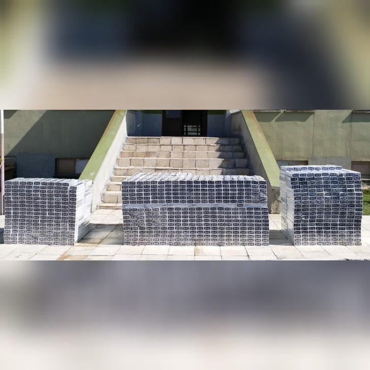 Van'da 5 bin paket kaçak sigara ele geçirildi