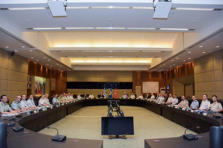 MSB: Türkiye ile Yunanistan arasındaki toplantı devam ediyor