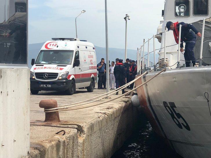 Bursa'da denizde kahreden olay! Eşi yardım istemek için karaya yüzerken boğuldu