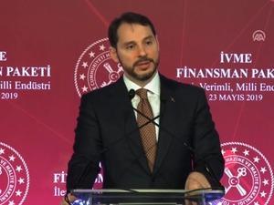 Hazine ve Maliye Bakanı Berat Albayrak, 'İVME Finansman Paketi'ni açıkladı